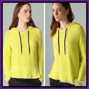 NWT- T by Alexander Wang Hooded Poncho Sweater